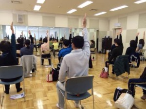 骨盤底筋体操からの体幹トレーニング②