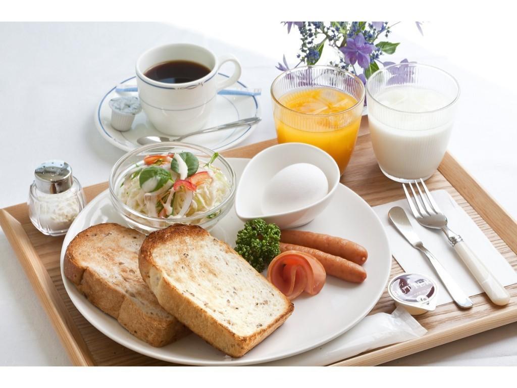 retroパンリニューアル朝食